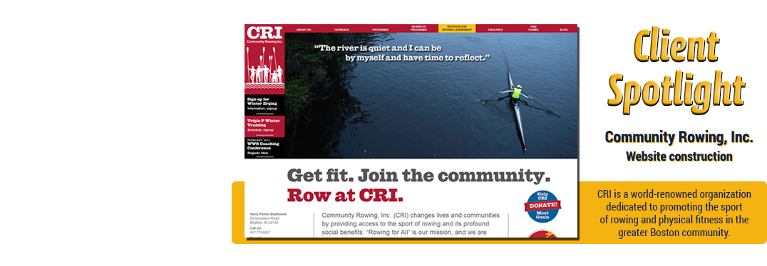 Community Rowing Inc.
